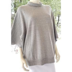 Catherine Malandrino Oversized Short Slves Sweater